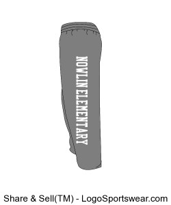 Nowlin Elementary Sweat Pants Design Zoom