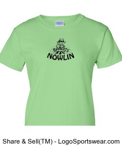 Ladies Nowlin T-Shirt Design Zoom
