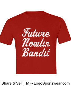 "Youth ""Future Nowlin Bandit"" shirt for incoming students! Design Zoom"