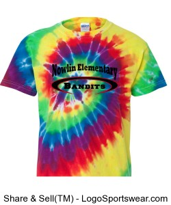 Youth Tie-Dye Design Zoom
